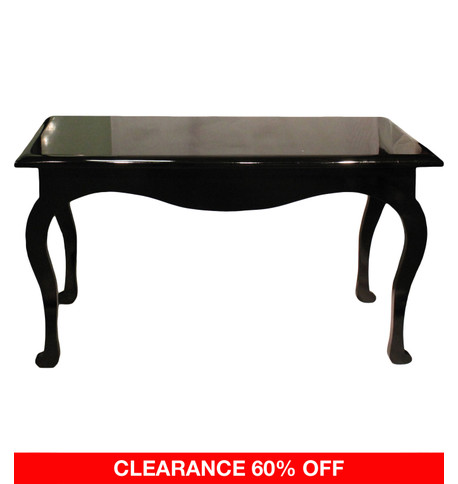 RECTANGULAR DISPLAY TABLE - BLACK Black