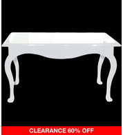 RECTANGULAR DISPLAY TABLE - WHITE - White