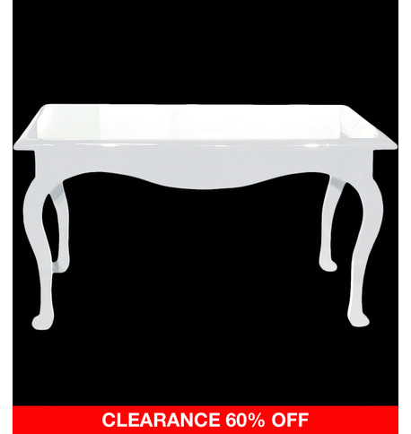 RECTANGULAR DISPLAY TABLE - WHITE White