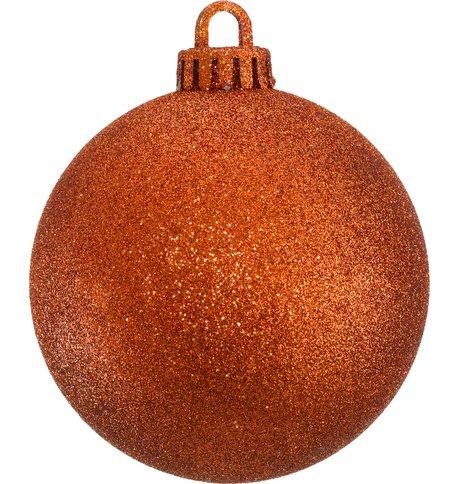 GLITTER BAUBLES - ORANGE Orange