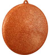 GLITTER DISCS - ORANGE - Orange