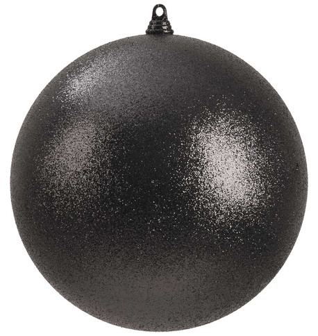 300mm GLITTER BAUBLES - BLACK Black