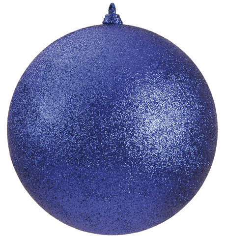 300mm GLITTER BAUBLES - BLUE Blue
