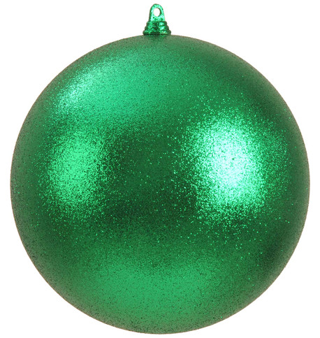 300mm GLITTER BAUBLES - GREEN Green