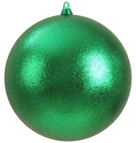 300mm GLITTER BAUBLES - GREEN Green