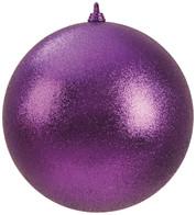 300mm GLITTER BAUBLES - PURPLE - Purple