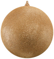 300mm GLITTER BAUBLES - ROSE GOLD - Rose Gold