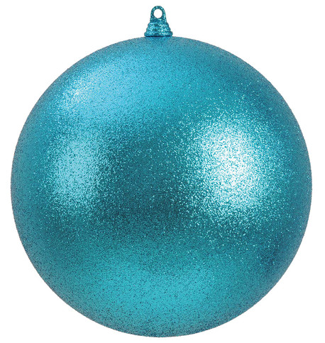 300mm GLITTER BAUBLES - TURQUOISE Turquoise