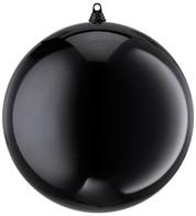 300mm SHINY BAUBLES - BLACK - Black