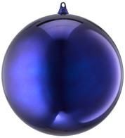 300mm SHINY BAUBLES - BLUE - Blue