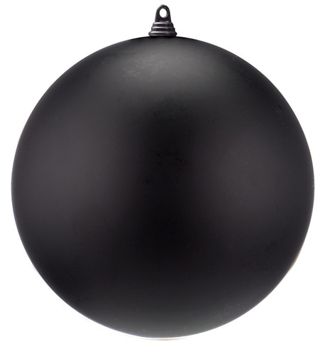 300mm MATT BAUBLES - BLACK Black