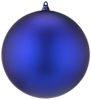 300mm MATT BAUBLES - BLUE - Blue