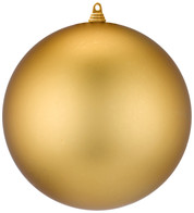 300mm MATT BAUBLES - GOLD - Gold