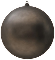 300mm MATT BAUBLES - GRAPHITE - Graphite