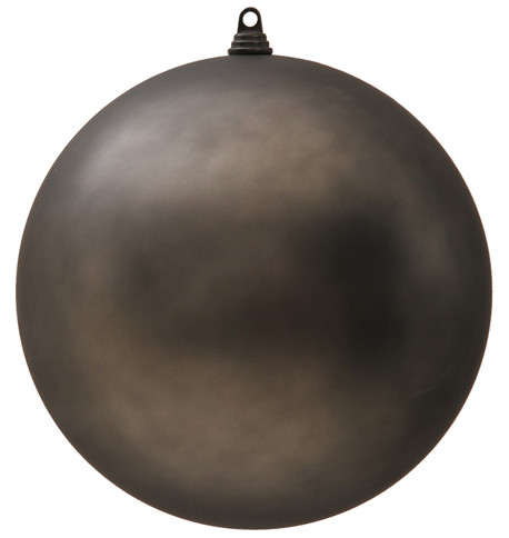 300mm MATT BAUBLES - GRAPHITE Graphite