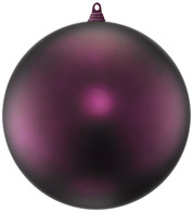 300mm MATT BAUBLES - MULBERRY - Mulberry