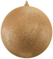 400mm GLITTER BAUBLES - ROSE GOLD - Rose Gold