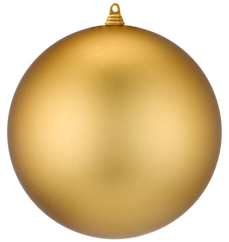 400mm MATT BAUBLES - GOLD Gold