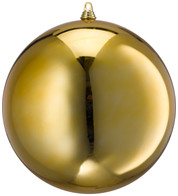 400MM SHINY BAUBLES - GOLD - Gold