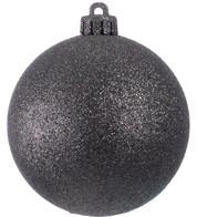 GLITTER BAUBLES - BLACK - Black