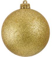 GLITTER BAUBLES - GOLD - Gold