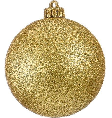 GLITTER BAUBLES - GOLD Gold