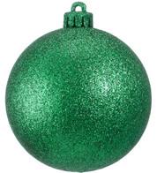 GLITTER BAUBLES - GREEN - Green