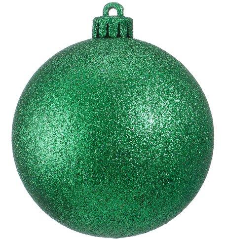GLITTER BAUBLES - GREEN Green
