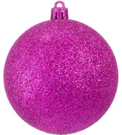 GLITTER BAUBLES - PINK - Pink