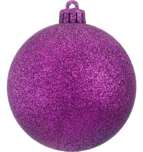 GLITTER BAUBLES - PURPLE Purple