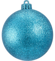 GLITTER BAUBLES - TURQUOISE - Turquoise