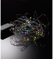 Multicolour silver wire lights - Multicolour