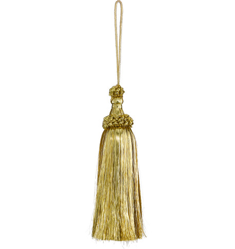 METALLIC YARN TASSEL - GOLD Gold