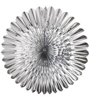 FOIL SUNFLOWER FAN - SILVER - Silver