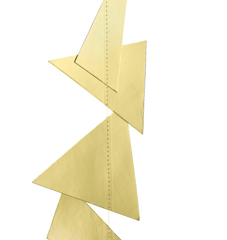 GEOMETRIC GARLANDS - GOLD Gold
