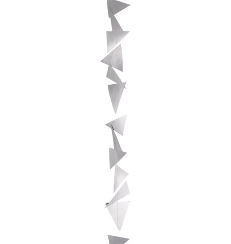 GEOMETRIC GARLANDS - SILVER Silver