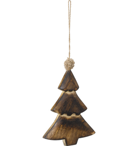 WOODEN CHRISTMAS TREE Natural