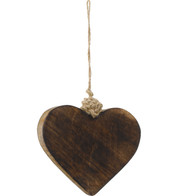 WOODEN HEART - Natural