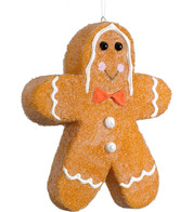 GINGERBREAD MAN - SMALL - Brown