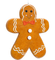 GINGERBREAD MAN - LARGE - Brown