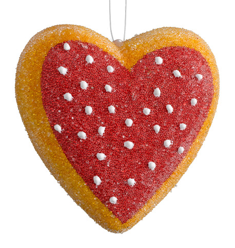 HEART COOKIES Red