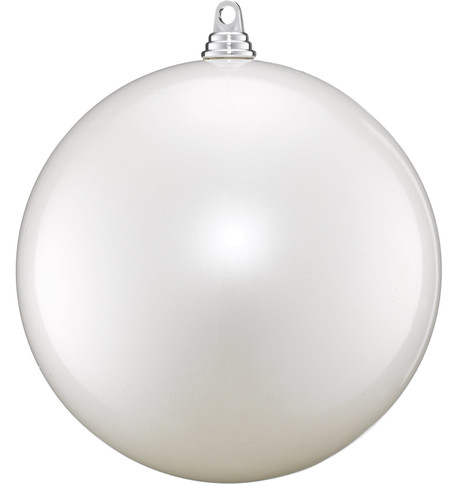 250mm BAUBLES - PEARL WHITE Pearl White