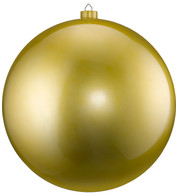 500mm HIGH GLOSS BAUBLES - GOLD - Gold
