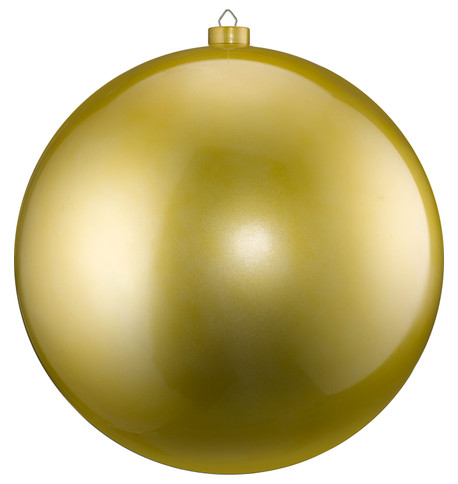 500mm HIGH GLOSS BAUBLES - GOLD Gold