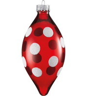 POLKA DOT DROP - Red