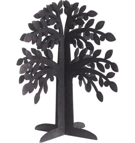 SPARKLE TREE - BLACK - LARGE Black