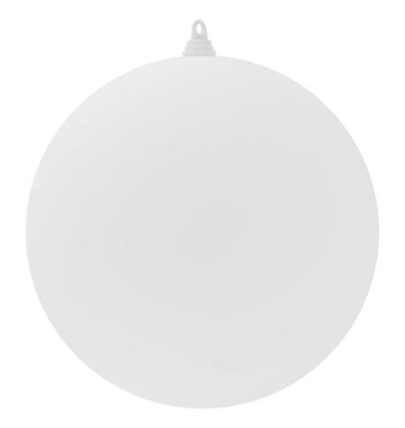 340mm MATT BAUBLES - WHITE White