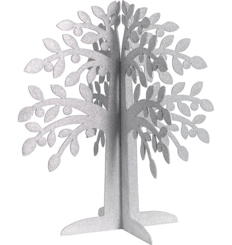 SPARKLE TREES - SILVER Silver