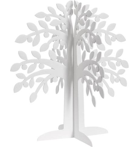 SPARKLE TREES - WHITE White