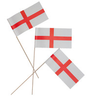 England flags - Red and White